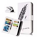 رخيصةأون أغطية أيفون-غطاء من أجل Apple iPhone XS / iPhone XR / iPhone XS Max محفظة / حامل البطاقات / مع حامل غطاء كامل للجسم الريش قاسي جلد PU