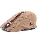 رخيصةأون قبعات الرجال-رمادي أخضر داكن كاكي قبعة قلنسوة طباعة رجالي بوليستر,أساسي