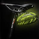 povoljno Ukrasne naljepnice-Bike Saddle Bag Zamišljen Otporno na kišu Vodootporni patent Torba za bicikl PU koža EVA pjena Torba za bicikl Torbe za biciklizam Biciklizam Bicikl