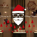 رخيصةأون الستائر-فيلم نافذة وملصقات زخرفة معاصر / عيد الميلاد بسيط / عطلة PVC كوول