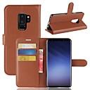 povoljno Ženski satovi-Θήκη Za Samsung Galaxy S9 / S9 Plus / S8 Plus Novčanik / Utor za kartice / sa stalkom Korice Jednobojni Tvrdo PU koža