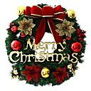 رخيصةأون تزيين المنزل-أكاليل / عيد الميلاد الحلي عطلة PVC دائري حزب / حداثة زينة عيد الميلاد