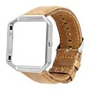 رخيصةأون أساور ساعات FitBit-حزام إلى Fitbit Blaze فيتبيت عقدة جلدية جلد طبيعي شريط المعصم