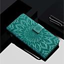 رخيصةأون واقيات شاشات Huawei-غطاء من أجل Huawei Huawei P20 / Huawei P20 Pro / Huawei P20 lite محفظة / حامل البطاقات / مع حامل غطاء كامل للجسم زهور قاسي جلد PU