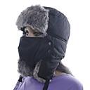 ieftine Îmbrăcăminte de Drumeții-Bărbați Pentru femei Chapka Căciulă Blană Sporturi de Iarnă Keep Warm Poliester Face Mask Pălării Ținută Ski