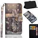 رخيصةأون أغطية أيفون-غطاء من أجل Apple iPhone XS / iPhone XR / iPhone XS Max نموذج غطاء كامل للجسم قطة قاسي جلد PU