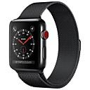 ieftine Accesorii Ceasuri-Oțel inoxidabil Uita-Band Curea pentru Apple Watch Series 4/3/2/1 Negru / Albastru / Argint 23cm / 9 Inci 2.1cm / 0.83 Inchi
