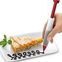ieftine Ustensile & Gadget-uri de Copt-1 buc silicagel Model nou Gril pe Kamado Anul Nou Tort Cupcake Ciocolatiu Rotund desert decoratori Instrumente de desert Instrumente de coacere