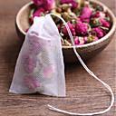رخيصةأون أدوات الشاي-أكياس الشاي 20pcs فارغة أكياس الشاي المعطرة مع سلسلة شفاء ختم مرشح ورقة لعشب bolsas الشاي فضفاضة