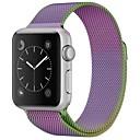 ieftine Îngrijire Unghii-Oțel inoxidabil Uita-Band Curea pentru Apple Watch Series 4/3/2/1 Violet 23cm / 9 Inci 2.1cm / 0.83 Inchi