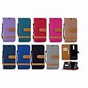 رخيصةأون الأساور الذكية-غطاء من أجل نوكيا Nokia 5.1 / Nokia 3.1 / Nokia 2.1 محفظة / حامل البطاقات / مع حامل غطاء كامل للجسم لون سادة قاسي منسوجات