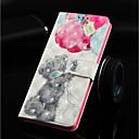 رخيصةأون أغطية أيفون-غطاء من أجل Apple iPhone XS / iPhone XR / iPhone XS Max محفظة / حامل البطاقات / مع حامل غطاء كامل للجسم حيوان قاسي جلد PU
