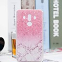 رخيصةأون Huawei أغطية / كفرات-غطاء من أجل Huawei Mate 10 / Mate 10 pro / Mate 10 lite شفاف / نموذج غطاء خلفي حجر كريم ناعم TPU