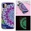 voordelige Galaxy S-serie hoesjes / covers-hoesje Voor Apple iPhone XS / iPhone XR / iPhone XS Max Glow in the dark / Patroon Achterkant Bloem Zacht TPU