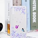 رخيصةأون Huawei أغطية / كفرات-غطاء من أجل Huawei Huawei P20 / Huawei P20 Pro / Huawei P20 lite شفاف / نموذج غطاء خلفي فراشة / زهور ناعم TPU
