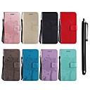رخيصةأون LG أغطية / كفرات-غطاء من أجل LG LG X Power / LG V30 / LG V20 محفظة / حامل البطاقات / مع حامل غطاء كامل للجسم قطة / شجرة قاسي جلد PU