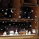 رخيصةأون الستائر-فيلم نافذة وملصقات زخرفة معاصر / مظهر المدنية وردة / شخصية PVC ملصق النافذة