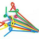 povoljno Slamke i štapići za mješanje-Drinkware Slamke Plastika / Mekana plastika Slatko Ležerno / za svaki dan