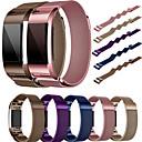 رخيصةأون إكسسوارات سامسونج-حزام إلى Fitbit Charge 2 فيتبيت عقدة ميلانزية ستانلس ستيل شريط المعصم