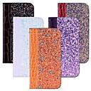 ieftine Îngrijire Unghii-Maska Pentru Nokia Nokia 8 / Nokia 7 Plus / Nokia 6 2018 Titluar Card / Cu Stand / Întoarce Carcasă Telefon Luciu Strălucire Greu PU piele