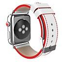 ieftine Îngrijire Unghii-Oțel inoxidabil Uita-Band Curea pentru Apple Watch Series 4/3/2/1 Negru / Roșu 23cm / 9 Inci 2.1cm / 0.83 Inchi