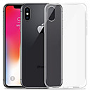ieftine Carcase iPhone 6s-Maska Pentru Apple iPhone XS / iPhone XR / iPhone XS Max Transparent Capac Spate Mată Moale TPU
