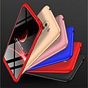 رخيصةأون Xiaomi أغطية / كفرات-غطاء من أجل Xiaomi Xiaomi Pocophone F1 / Xiaomi Mi 8 / Xiaomi Mi 8 SE ضد الصدمات غطاء كامل للجسم لون سادة قاسي الكمبيوتر الشخصي