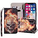 povoljno iPhone maske-Θήκη Za Apple iPhone XS / iPhone XR / iPhone XS Max Novčanik / Utor za kartice / sa stalkom Korice Lubanje Tvrdo PU koža