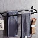 זול גאדג'טים לחדר האמבטיה-מתלה מגבת עיצוב חדש / מגניב מודרני פלדת אל חלד / ברזל 1pc כפול מותקן על הקיר