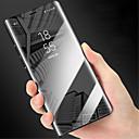 hesapli Huawei İçin Kılıflar / Kapaklar-Pouzdro Uyumluluk Huawei Huawei Mate 8 / Mate 9 / Mate 9 Pro Ayna / Flip Tam Kaplama Kılıf Solid Sert PC