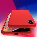 رخيصةأون Xiaomi أغطية / كفرات-غطاء من أجل Apple iPhone XS / iPhone XR / iPhone XS Max ضد الصدمات / شفاف غطاء خلفي لون سادة ناعم TPU