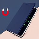 billige Etuier / deksler til Galaxy S-modellene-Etui Til Samsung Galaxy S9 / S9 Plus / S8 Plus Kortholder / med stativ / Flipp Heldekkende etui Ensfarget Hard PU Leather