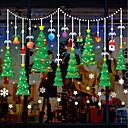 levne Doplňky na okna-Okenní film a samolepky Dekorace Vánoce Postavička PVC Nálepka na okna / Rozkošný / Legrační