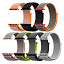 voordelige Apple Watch-bandjes-Horlogeband voor Apple Watch Series 5/4/3/2/1 Apple Leren lus Nylon Polsband