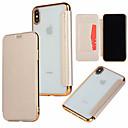 povoljno iPhone maske-Θήκη Za Apple iPhone XS / iPhone XR / iPhone XS Max Utor za kartice / Pozlata / Zaokret Korice Jednobojni Tvrdo PU koža