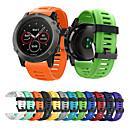 رخيصةأون ألعابالربط-smartwatch الفرقة ل فينيكس 3 / فينيكس 5x / فينيكس 5x زائد غارمين سيليكون الرياضة الفرقة أزياء حزام لينة