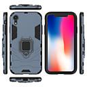 ราคาถูก อุปกรณ์ตกแต่งบ้าน-Case สำหรับ Apple iPhone XS / iPhone XR / iPhone XS Max Shockproof / ที่แขวนห่วง ปกหลัง สีพื้น Hard พีซี