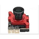 رخيصةأون ساعات الرجال-1/3 960h ccd 800tvl البسيطة fpv كاميرا 2.3 ملليمتر / 2.1 ملليمتر عدسة واسعة الجهد 5 فولت -30 فولت ل fpv uav سباق العاكس كاميرا المراقبة 19 * 19 ملليمتر