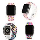 voordelige Galaxy A8 Hoesjes / covers-bloem smartwatch band voor apple watch serie 4/3/2/1 sportband siliconen iwatch riem