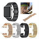 povoljno Apple Watch remeni-Pogledajte Band za Apple Watch Series 5/4/3/2/1 Apple Sportski remen Nehrđajući čelik Traka za ruku
