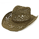رخيصةأون قبعات الرجال-أسود البيج كاكي قبعة الماصة طباعة رجالي قش,عتيق