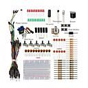 povoljno DIY setovi-osnovni starter kit / breadboard jumper žice boja led resistors zujalica za arduino un r3 mega2560 mega328 nano