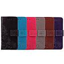 Недорогие Чехлы и кейсы для Sony-Кейс для Назначение Sony Sony Xperia XA1 Бумажник для карт / Флип Чехол Однотонный / Мандала Мягкий Кожа PU
