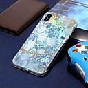 رخيصةأون أغطية أيفون-غطاء من أجل Apple iPhone XS / iPhone XR / iPhone XS Max تصفيح / نموذج غطاء خلفي حجر كريم ناعم TPU