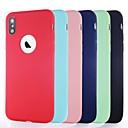voordelige iPhone-hoesjes-hoesje Voor Apple iPhone XS / iPhone XR / iPhone XS Max Ultradun / Mat Achterkant Effen Zacht TPU