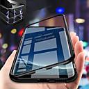 povoljno Maske/futrole za Galaxy S seriju-Θήκη Za Samsung Galaxy S9 / S9 Plus / S8 Plus Otporno na trešnju / S magnetom Stražnja maska Jednobojni Tvrdo Kaljeno staklo