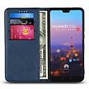 povoljno Maske/futrole za Huawei-Θήκη Za Huawei Huawei P20 / Huawei P20 Pro / Huawei P20 lite Utor za kartice / sa stalkom Korice Jednobojni Tvrdo prava koža