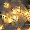 ieftine Imbracaminte & Accesorii Căței-1.5m Fâșii de Iluminat 10 LED-uri 1set Alb Cald Draguț / Petrecere / Decorativ Baterii AA alimentate