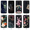 رخيصةأون حافظات / جرابات هواتف جالكسي A-غطاء من أجل Samsung Galaxy A5(2018) / A6 (2018) / A6+ (2018) نموذج غطاء خلفي حيوان / زهور ناعم TPU