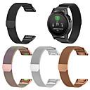 povoljno Apple Watch remeni-Pogledajte Band za Fenix 5 Garmin Preklopna metalna narukvica Nehrđajući čelik Traka za ruku